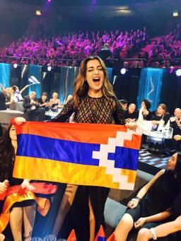 Iveta Mukuchyan in finale ad Eurovision 2016