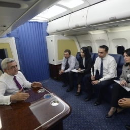 Il Presidente Sargsyan riassume in un'intervista i risultati dell'incontro di Vienna