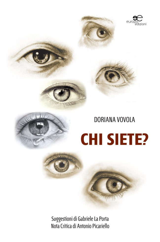 """Copertina del libro """"Chi siete?"""" di Doriana Vovola"""