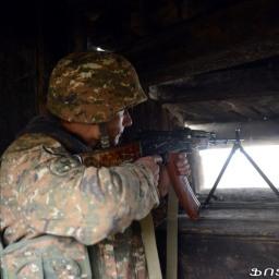 Soldato armeno ucciso da fuoco azero