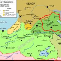 Trattato di Sèvres (1920) - Sezioni dedicate all'Armenia