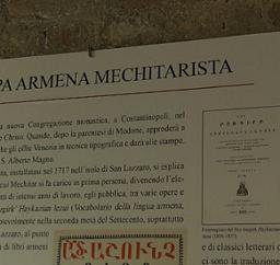 LA STAMPA ARMENA MECHITARISTA