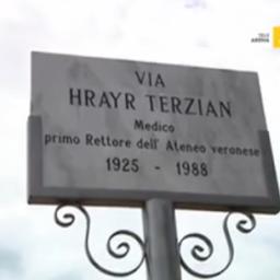 Verona: intitolata una via al primo Rettore Terzian