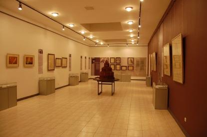 Sala 1 del museo, esposizione permanente