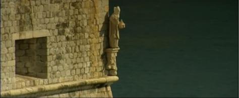 San Biagio sulle mura della città, a protezione dagli attacchi dal mare