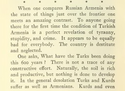 Estratto da: Travel and Politics in Armenia (1914)
