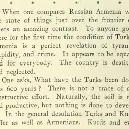 Estratto da: Travel and Politics in Armenia (1914)