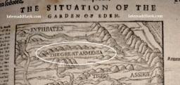 Bibbia del 1599 mostra mappa della Grande Armenia