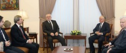 Il Ministro degli Esteri Nalbandian ha incontrato i co-presidenti del Gruppo di Minsk