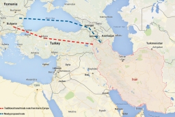 Primo cargo europeo diretto in Iran attraverso l'Armenia, evitando la Turchia