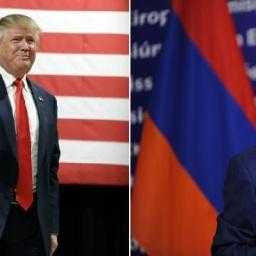 Gli auguri di Serzh Sargsyan al nuovo Presidente USA Donald Trump