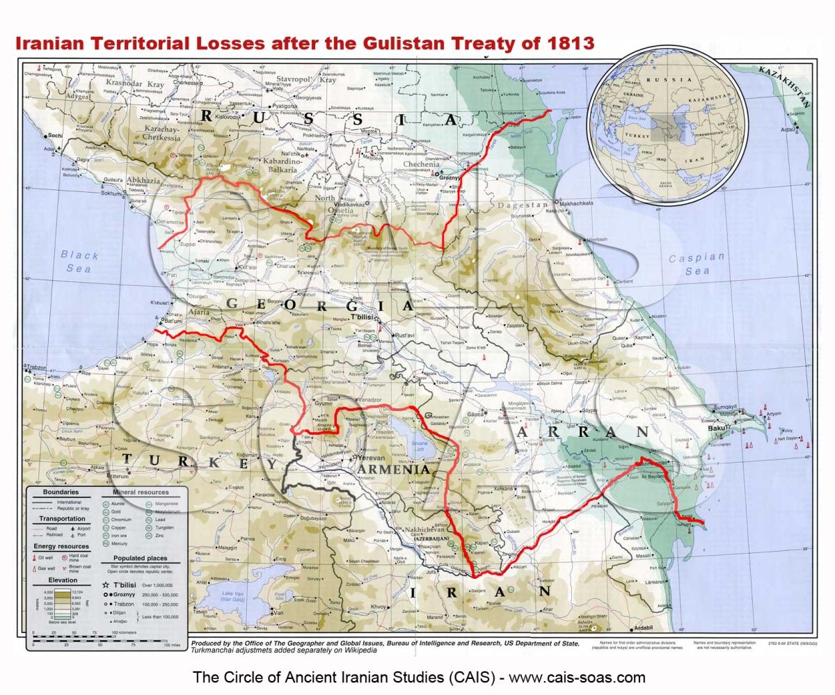 Sulla nascita dell'Azerbaigian (parte 1): il Trattato di Gulistan