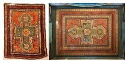 Un KAZAK sul soffitto: ogni tappeto ha una storia