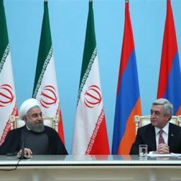Rouhani respinge una soluzione militare per l'Artsakh