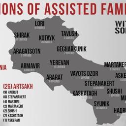 AYF Western US, distribuiti 126.500$ alle famiglie dei soldati caduti durante l'attacco azero di aprile