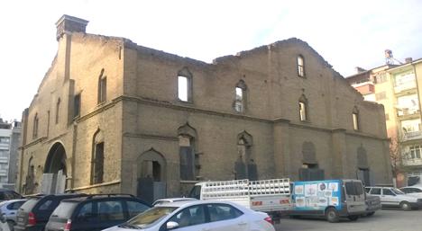 La chiesa protestante armena com'è ora.