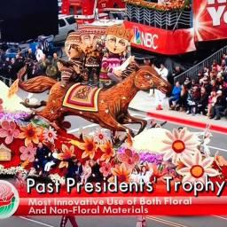 """Il carro Armeno """"Terra dei sogni"""" ha vinto il premio """"Past Presidents"""""""