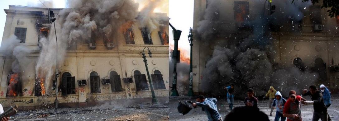 biblioteca-cairo-bruciata