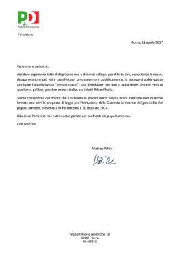 Matteo Orfini - Scuse