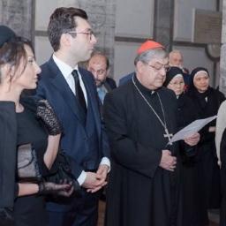 L'ambasciatore Mynasian ha partecipato alle commemorazioni del Genocidio Armeno a Roma e Napoli