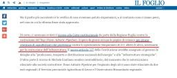 """Per """"Il Foglio"""" non è un problema foraggiare il regime di Aliyev"""