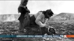Servizio del TG5 dedicato al Genocidio Armeno – VIDEO
