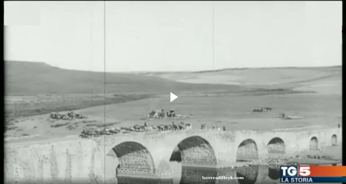 Il TG5 ricorda il Genocidio Armeno - VIDEO