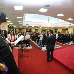 Video-riassunto della visita di Aram I in Kuwait