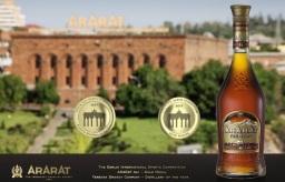 Il brandy ARARAT Ani 6 anni vincitore della medaglia d'oro a Berlino