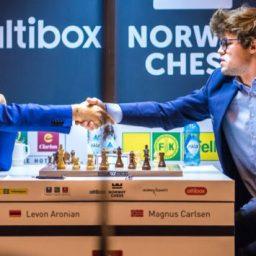 Scacchi: Levon Aronian batte il numero uno mondiale Carlsen