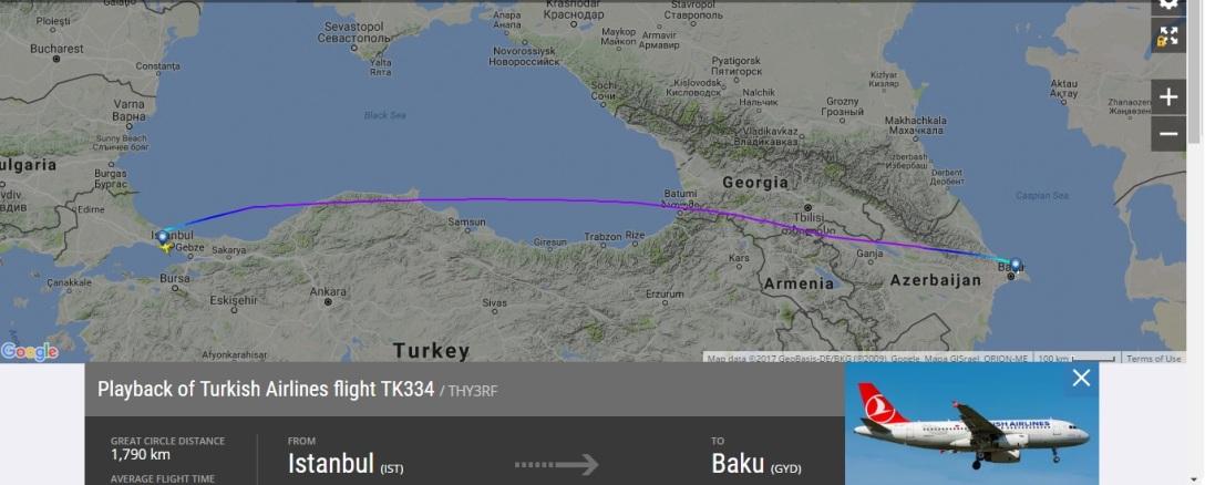TK334 - Volo 10 giugno