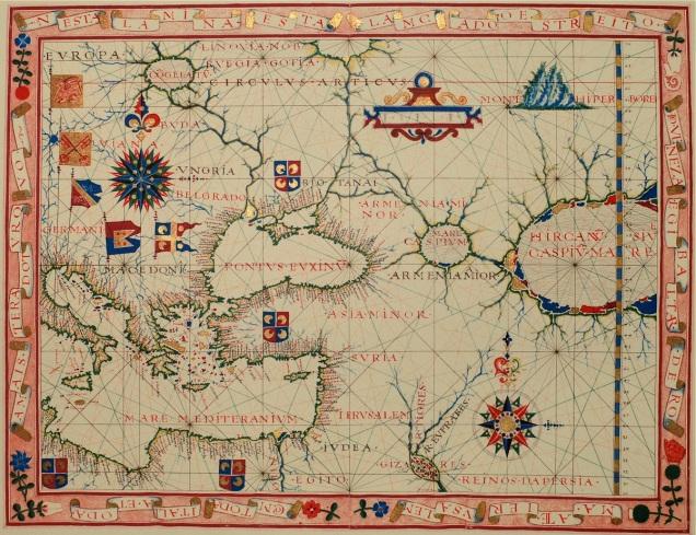 Vilnius - Esposizione mappe Armenia - Copertina