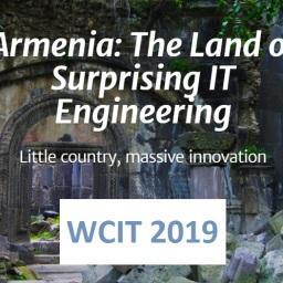 UFFICIALE: il sito del World Congress on Information Technology 2019 in Armenia finalmente online