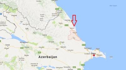 Esplosione deposito armi Azerbaigian - Mappa Syazan