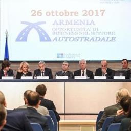 Armenia ed Italia verso una cooperazione nel settore autostradale