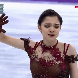 Evgenia Medvedeva solo argento alle Olimpiadi coreane