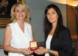 Incontro dell'Ambasciatrice Bagdassarian con il Sindaco di Roma Raggi