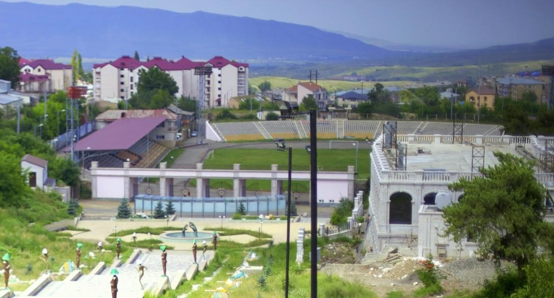 Stadio centrale Stepanakert Artsakh