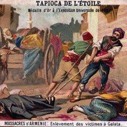 Il Genocidio Armeno raccontato dalle cartoline della Cioccolateria d'Aiguebelle