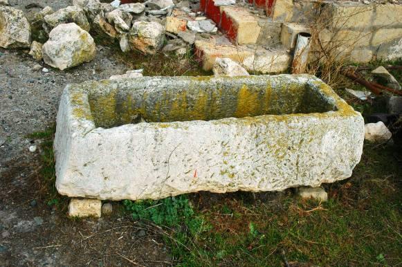 Tigranakert - Sarcofago cristiano, IV-VI sec. d.C.