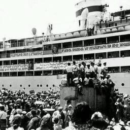 Il ritorno della diaspora armena sulla nave Pobeda