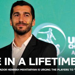 """Under 19, Mkhitaryan:""""Certi momenti capitano una sola volta nella vita"""""""