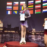 Anastasia Galustyan vince torneo internazionale di pattinaggio artistico
