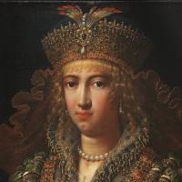 Uffizi: la Regina d'Armenia di Mario Balassi (sec. XVII)