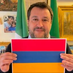 Matteo Salvini: videomessaggio per ricordare il Genocidio degli Armeni