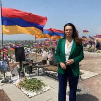 La senatrice francese Valérie Boyer fa gli auguri all'Armenia